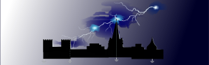 Earthforce lightning protection banner